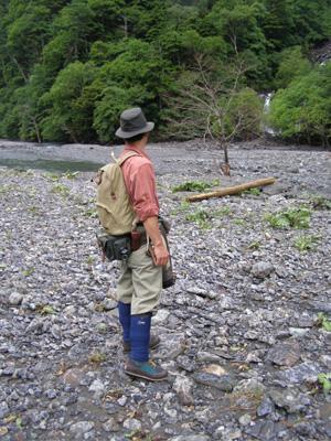 南アルプスの釣りスタイル