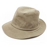 コーマ帆布の帽子(ハット)