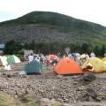 色取りどりのテント