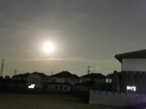 super moon at kitamoto
