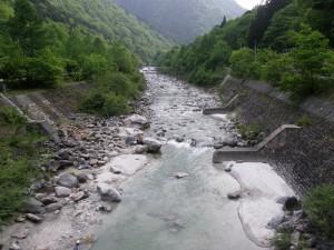 高瀬川上流域