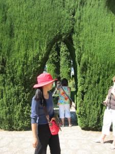 アルハンブラ庭園散策