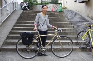 山田さん御愛用のバイク