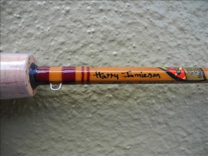 Harry Jamiesonのサイン