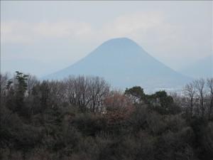 讃岐富士の姿
