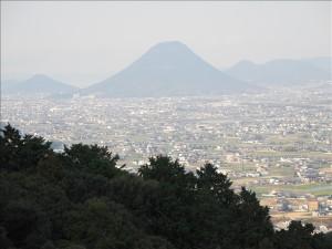 ここからの讃岐富士