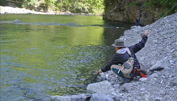 裏丹沢渓流釣り場